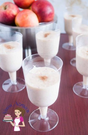 This apple mousse is the perfect dessert when you needs something rich but light and indulgent. The fall flavors of apple and cinnamon with the creamy textures of the mousse can be a comfort food perfect for any dessert table with family or friends this time of the year.
