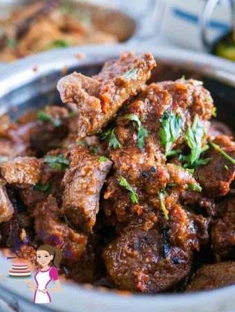 Indian Slow Cooked Lamb Masala aka Mutton Masala