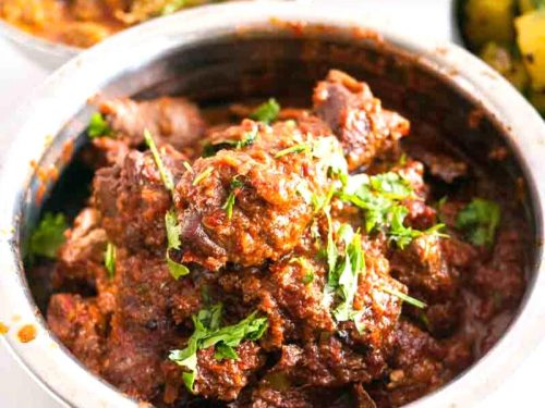Lamb masala also called mutton masala is a classic Indian meat dish with a distinct flavor and aroma. The process is simple, easy and effortless with exotic Indian spices that make this dish a true success. Weather you eat it with Indian chapati naan or plain white rice this dish is to die for.