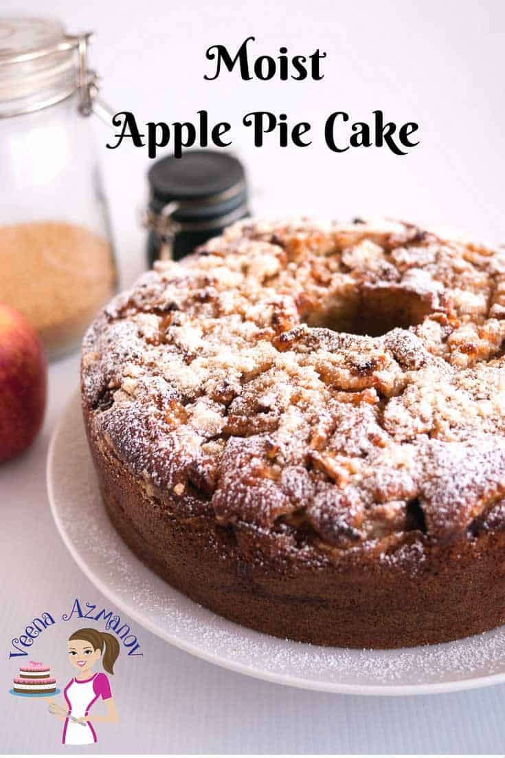 The Best Moist Apple Pie Cake With Crumble Topping