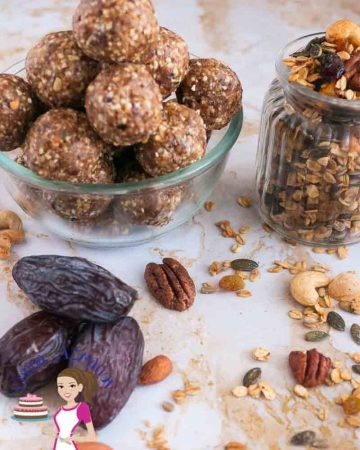 How to make No-Bake granola and dates Energy bites