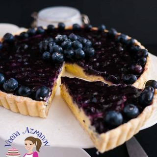 Make the best blueberry fruit tart in just 3 easy steps, from scratch or semi-homemade