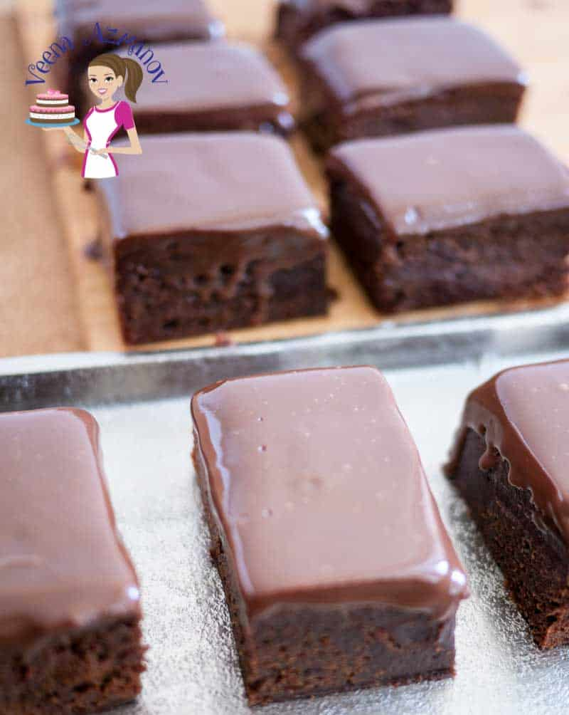 These dark chocolate fudge brownies are rich, dense and indulgent with a fudge topping just melts in the mouth. A simple, easy and effortless recipe that's quick and easy to make just as quick and easily they are to eat.