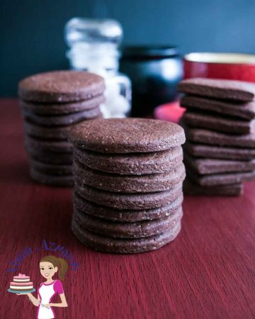 These rich, dark and delicious eggless chocolate sugar cookies are an addiction with their light and fluffy texture combined with the dark chocolate that just melts in the mouth. A simple easy and effortless recipe that will have you making these more often than you plan.