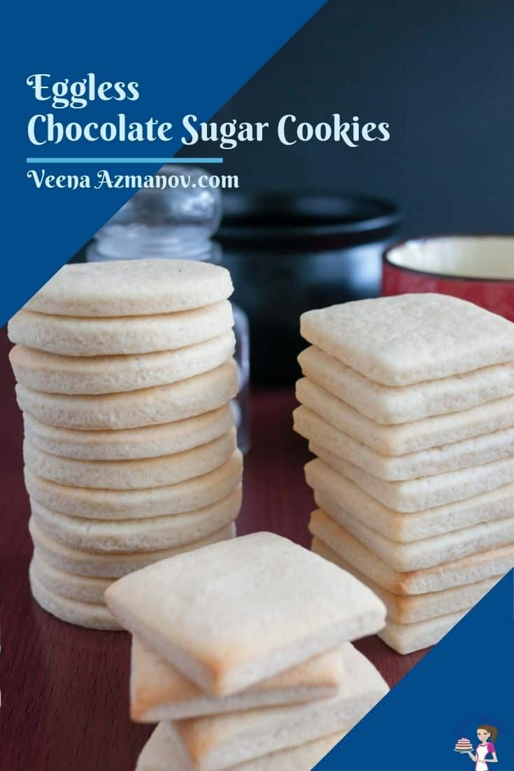 Pinterest image for sugar cookies