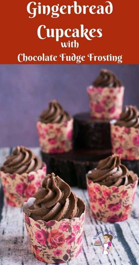 Cupcakes with chocolate frosting.