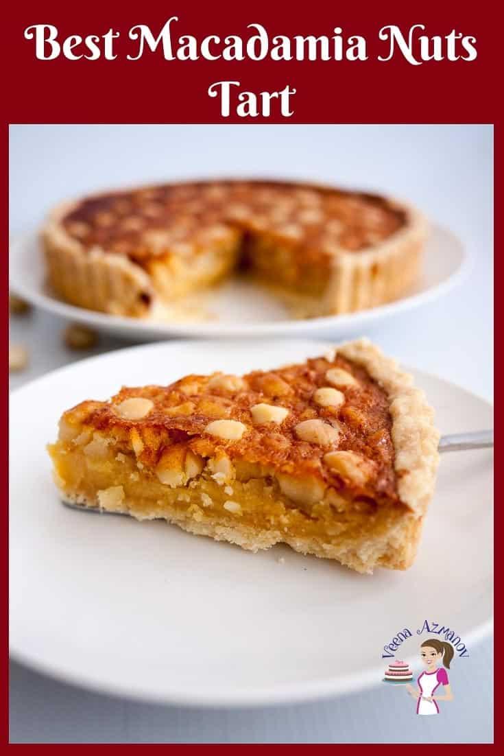 Shortcrust Tart, Macadamia Nuts, Pie filling, Nuts tart