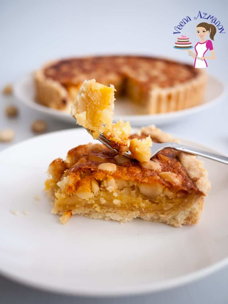 Shortcrust Tart, Macadamia Nuts, Pie filling, Nuts tart