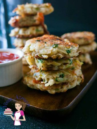 The BEST Potato Latkes aka Potato Pancakes