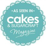 A banner for a cake decorating magazine.