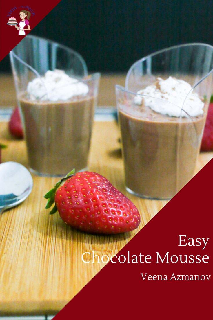How to Make a Homemade Mousse with Just 3 ingredients and Chocolate