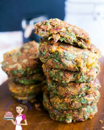 These kidney beans patties make perfect nutritious and healthy appetizers or sides. As well as great meatless, gluten free and vegan bean burgers. This simple, easy and effortless recipe is versatile and can be modified to suit your taste buds.