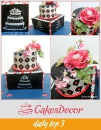 A page from a cake decorating website.