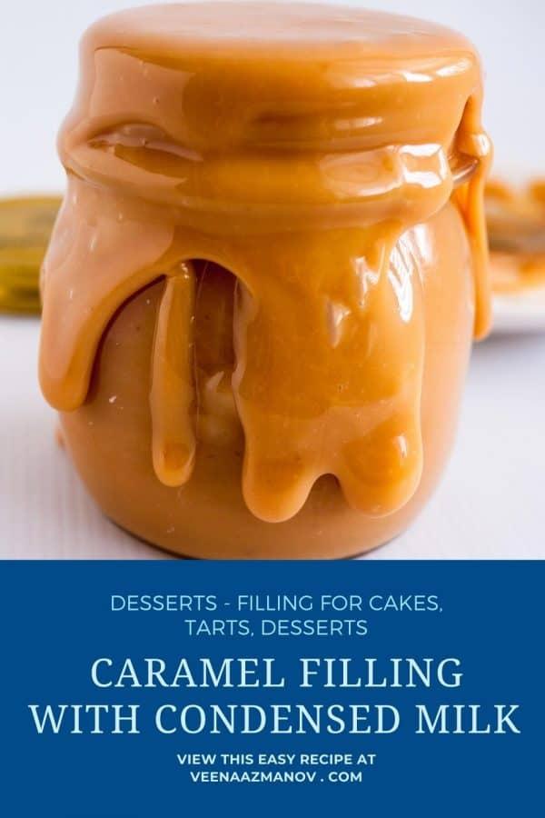 Pinterest image for caramel.