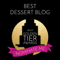 An award for best dessert blog.