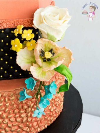 Copper Simpress Wedding Cake and a GIVEAWAY