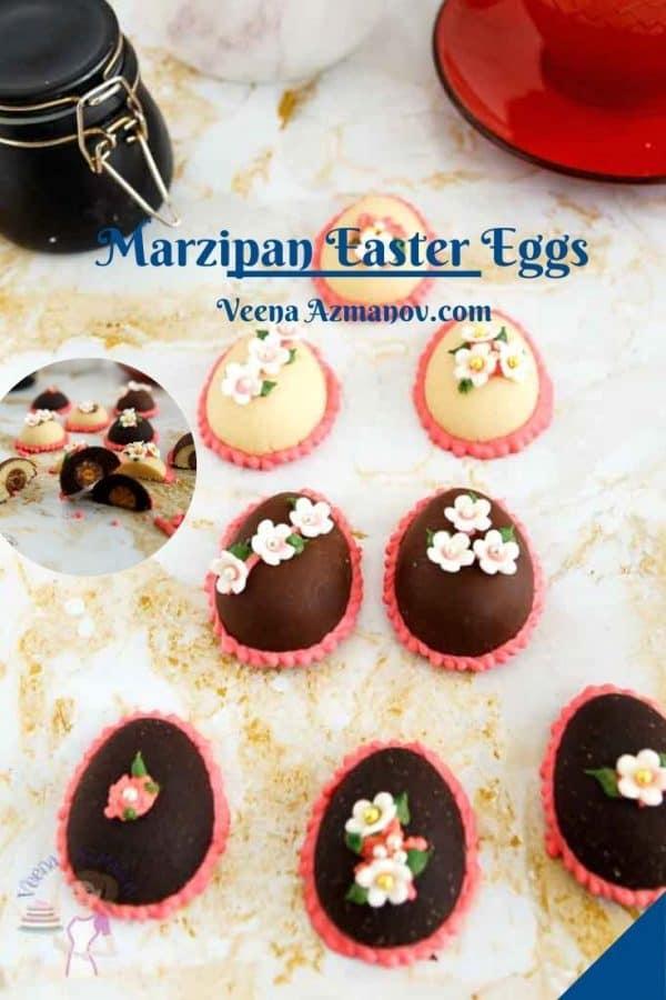 Pinterest image for easter eggs.