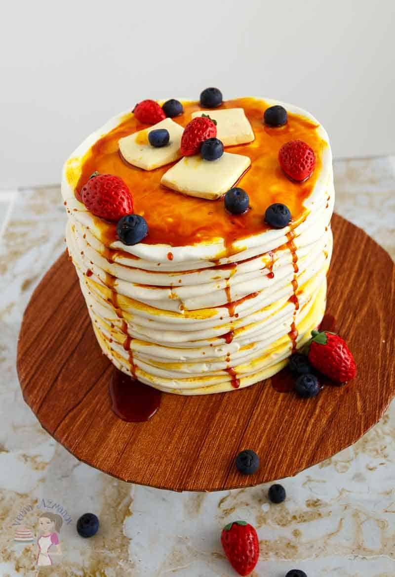 Pancake Cake Tutorial