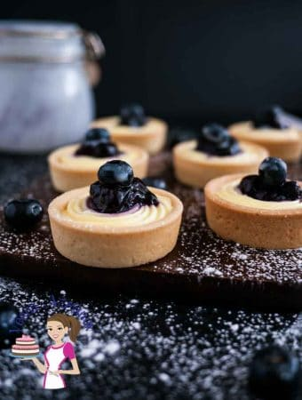 Mini Blueberry Cream Cheese Tarts Recipe