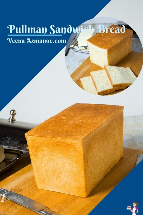 Pinterest image for pullman bread