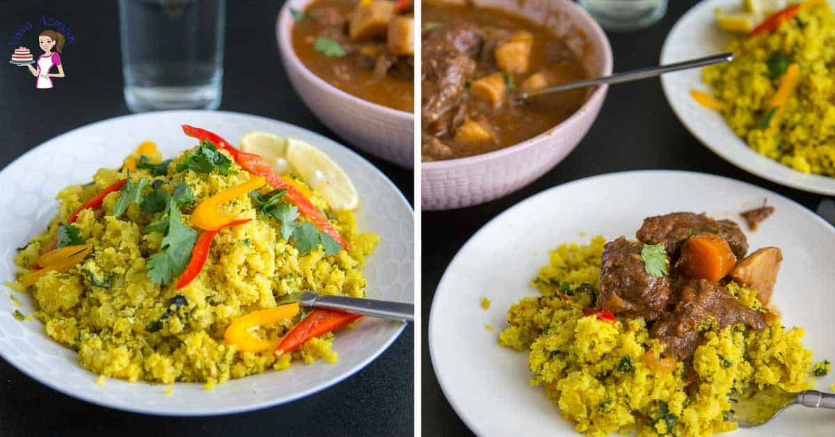 Turmeric Cauliflower Rice Recipe