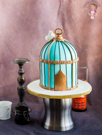 Vintage Birdcage Cake Tutorial – Cake Decorating Tutorials
