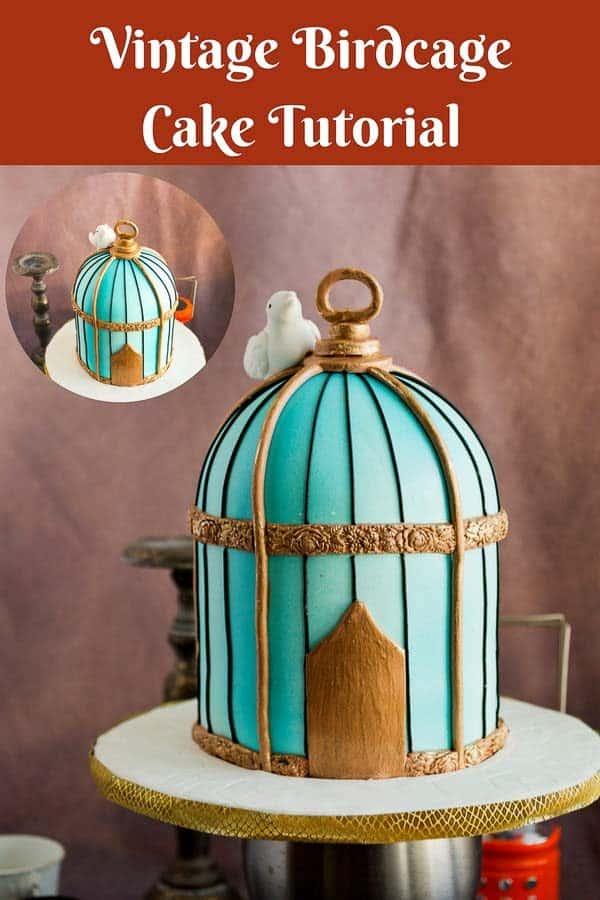 A birdcage cake.