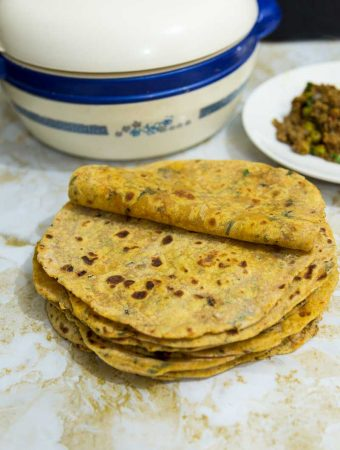 Sweet Potato Chapati aka Sweet Potato Flatbread
