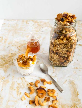 Toasted Coconut Cashew Granola Recipe