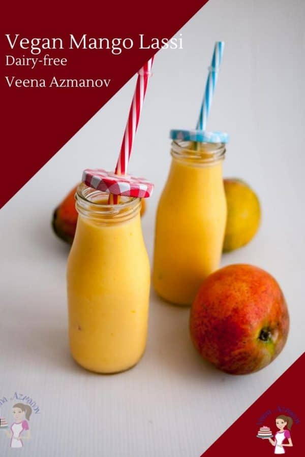 How to make Lassi dairy and vegan with coconut milk