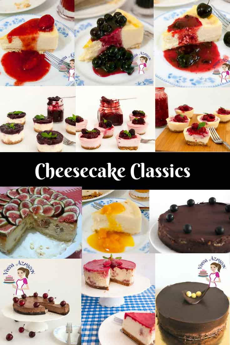 Cheesecake Recipes, mini cheesecakes recipe, baked cheesecake recipes, chocolate cheesecake, chocolate cherry cheesecake, Strawberry cheesecake, blueberry cheesecake, raspberry cheesecake, blackberry cheesecake, fig cheesecake, strawberry jello cheesecake, mango cheesecake,