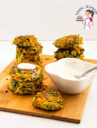 Carrot Zucchini Fritters – Appetizers and Sides