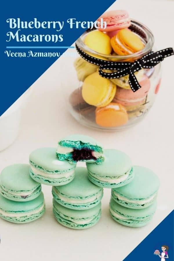 Macaron image for Pinterest