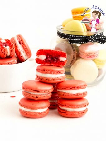 Raspberry Macarons – No-Fail Recipe Video Tutorial