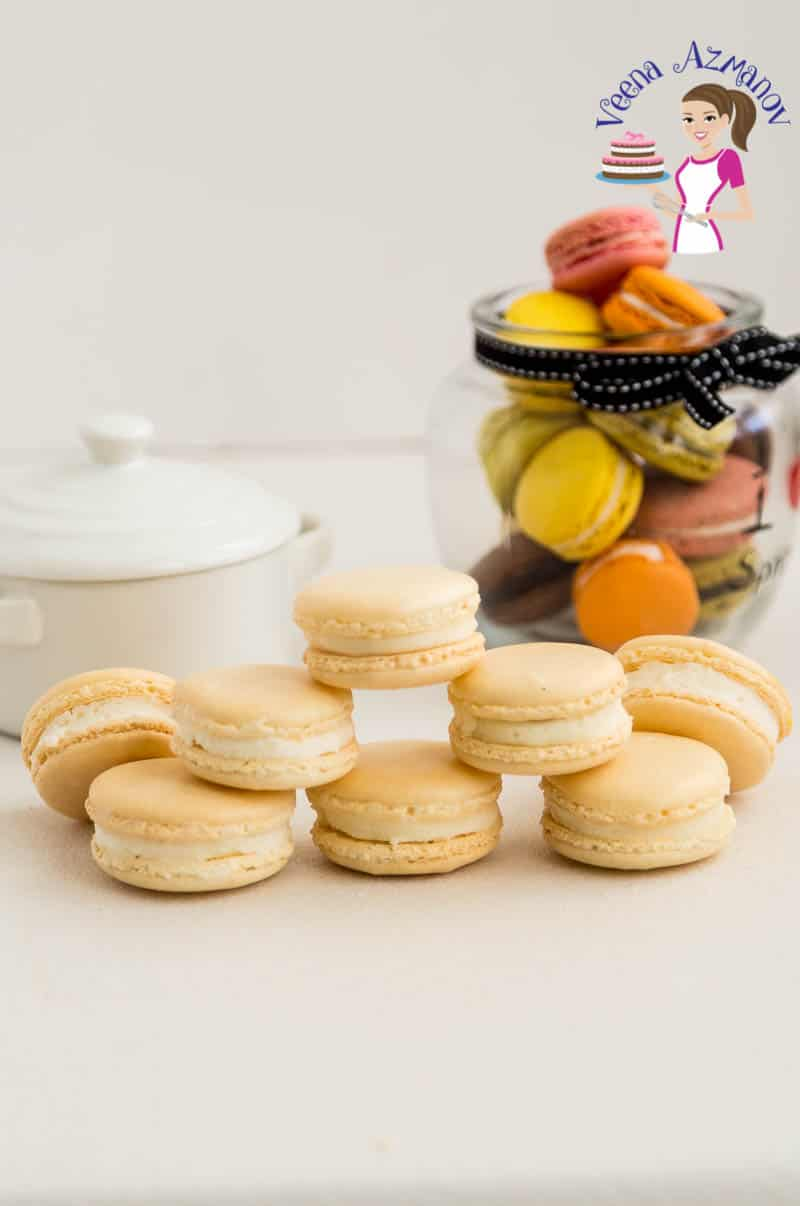 French Macarons No Fail Recipe Veena Azmanov