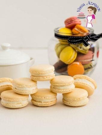 Vanilla French Macaron Recipe No-fail Recipe (Video)