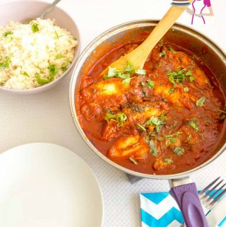 An image optimized for this Moroccan Fish in spicy tomato sauce also called Chraime here in Israel.