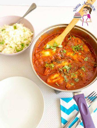 Moroccan Fish in Spicy Tomato Sauce – Chraime (Video Recipe)