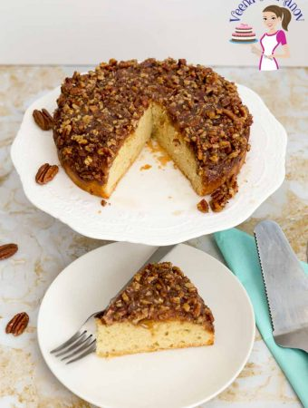 Upside Down Pecan Pie Cake – Video Recipe