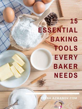 Here are 15 essential tools you will need to gift your baker friends