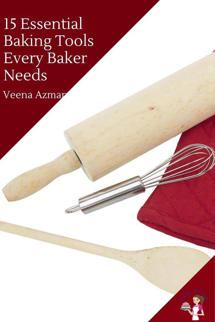 If you love baking then you probably already have most of these baking tools in your kitchen. If you are new to baking than I hope these will serve as a guide to stock your new baking journey. And if you have a baker friend than this might just be the gift guide you need to find her something for the holidays. So, here are just 15 tools every baker needs. #bakingtools #musthavetools #homebaker #toolsforbaking via @Veenaazmanov