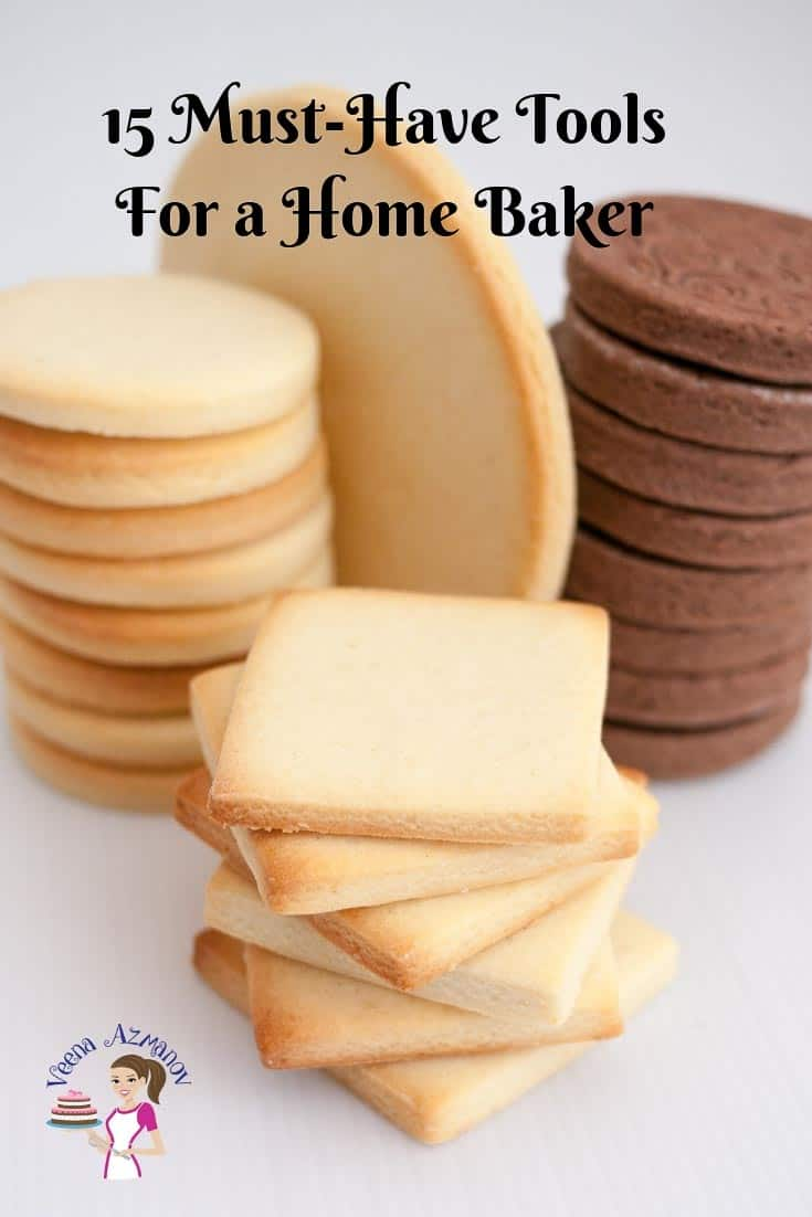 Wondering what to gift your baker friend? Here are 15 must-have tools for a home baker #gift #guide #baker #15 #tools #home-baker #15besttools via @Veenaazmanov