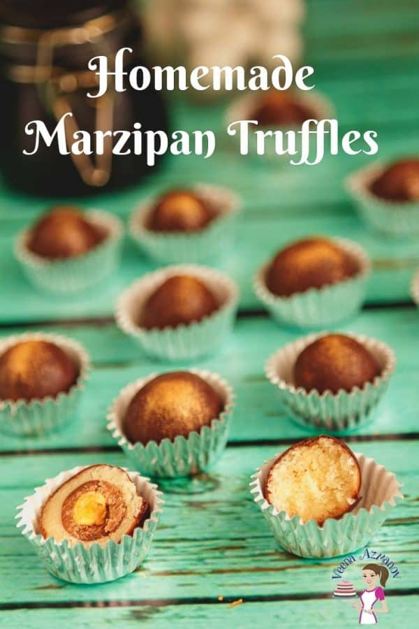 The best homemade marzipan truffles in 15 minutes weather you make the from scratch or semi-homemade
