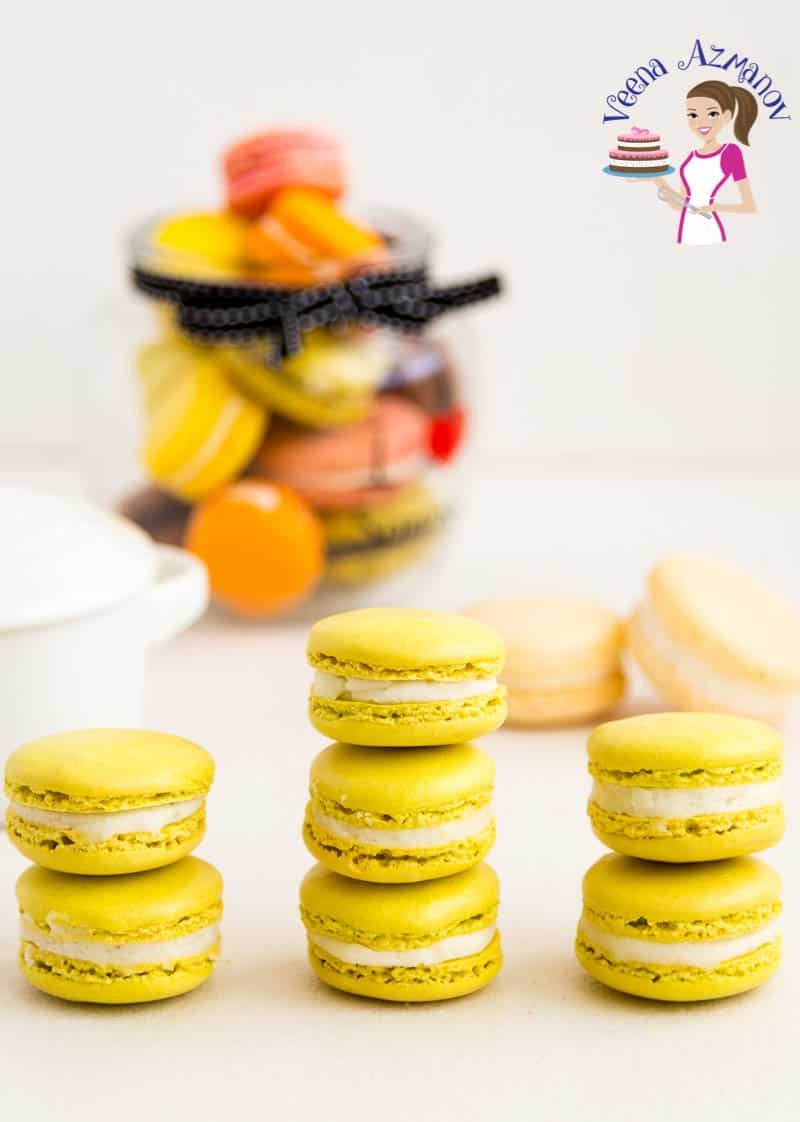 Making green tea matcha macarons with my no-fail macaron recipe and tips for success with a step by step video tutorial
