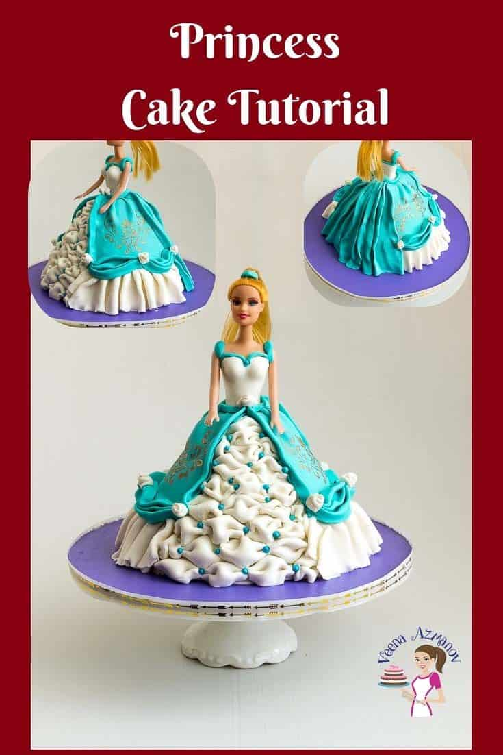 Learn To Make A Simple Easy And Elegant Princess Cake At Home With This Step