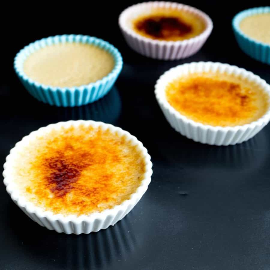 How to make pumpkin flavored creme brulee