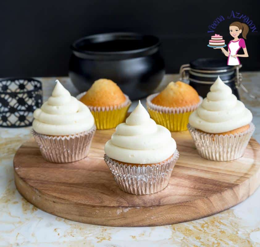 For a festive Christmas flavor make a delicious Eggnog Buttercream Frosting in just 5 minutes