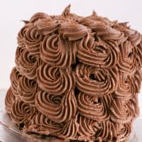 Rich Dark Nutella Buttercream Frosting