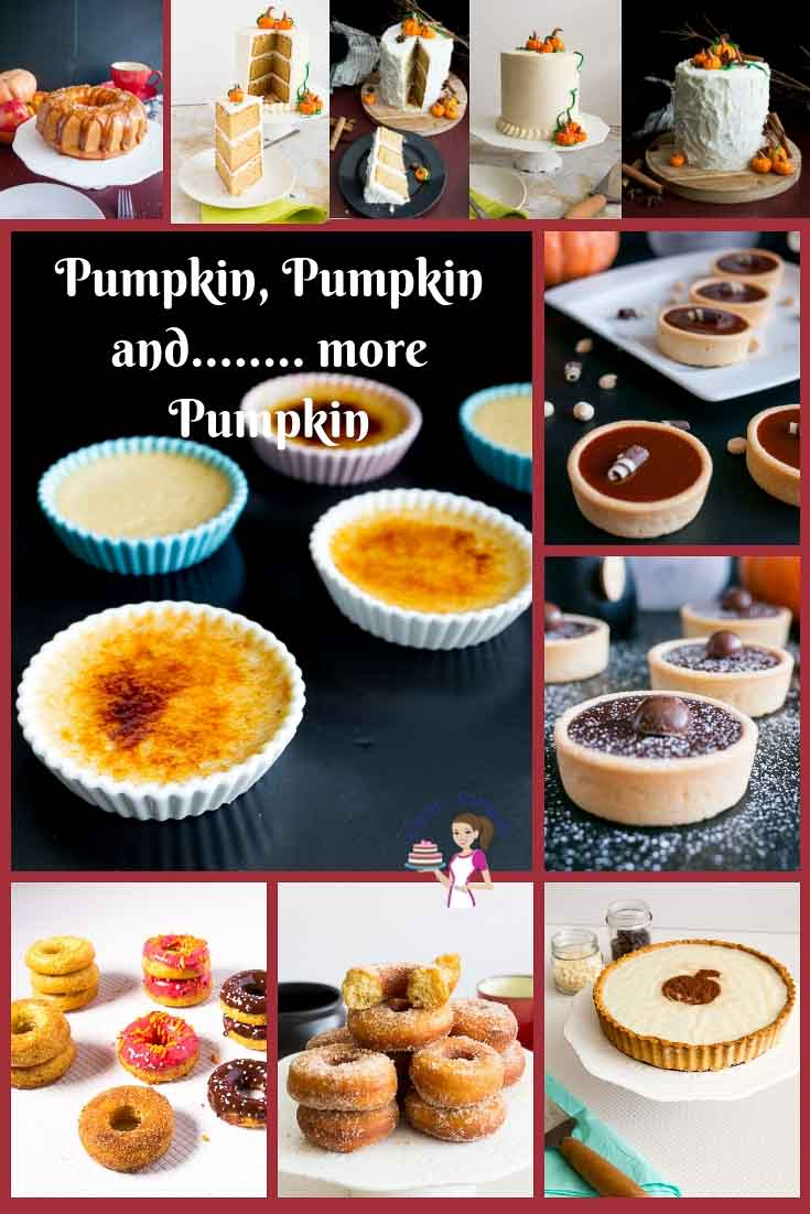Find the best collection of pumpkin recipes by Veena Azmanov - Pumpkin tarts, pumpkin cupcakes, pumpkin desserts, and more