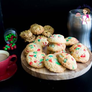 Quick and easy Candy Christmas Cookies in as little as 15 minutes.